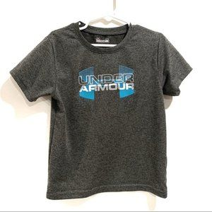 Under Armour Boy's Short Sleeve